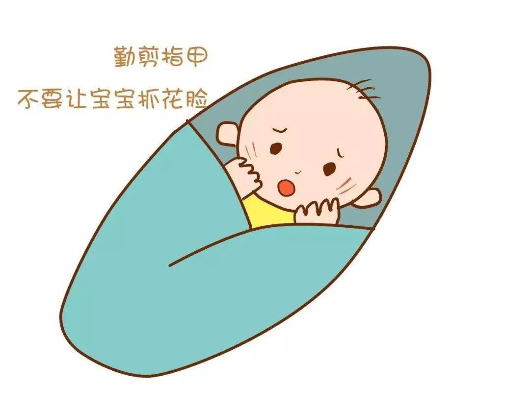 婴儿剪指甲大有讲究,怎样剪才安全