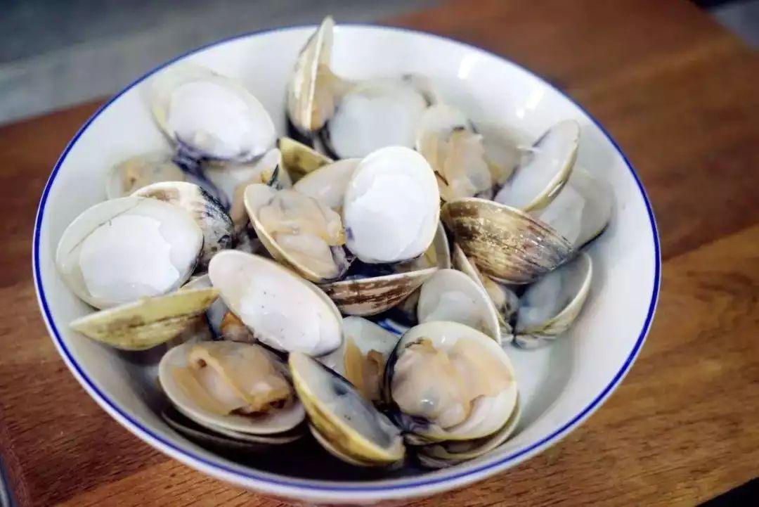 三鲜中的文蛤肉,值得单独一说.
