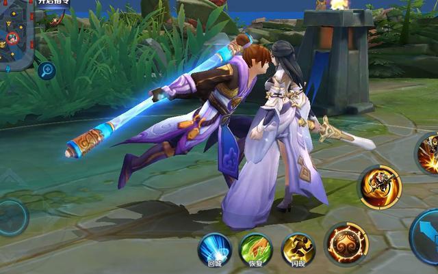 王者榮耀 3d視角下的紫霞仙子和至尊寶被玩壞了 可別圖片