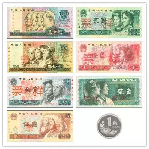 """第四套人民币上经典的""""四位伟人形象""""竟然是这么来的!"""