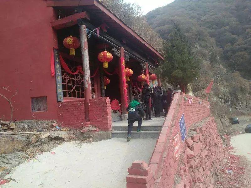 绛县陈村峪有一座财神庙!相传是由乔致雍建立的!