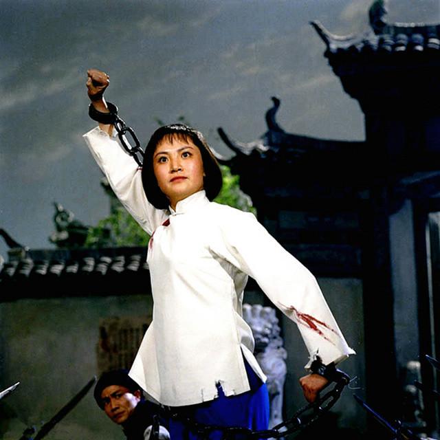 京剧电影杜鹃山下载_老照片: 样板戏《杜鹃山》剧照 新华社知名摄影师拍摄