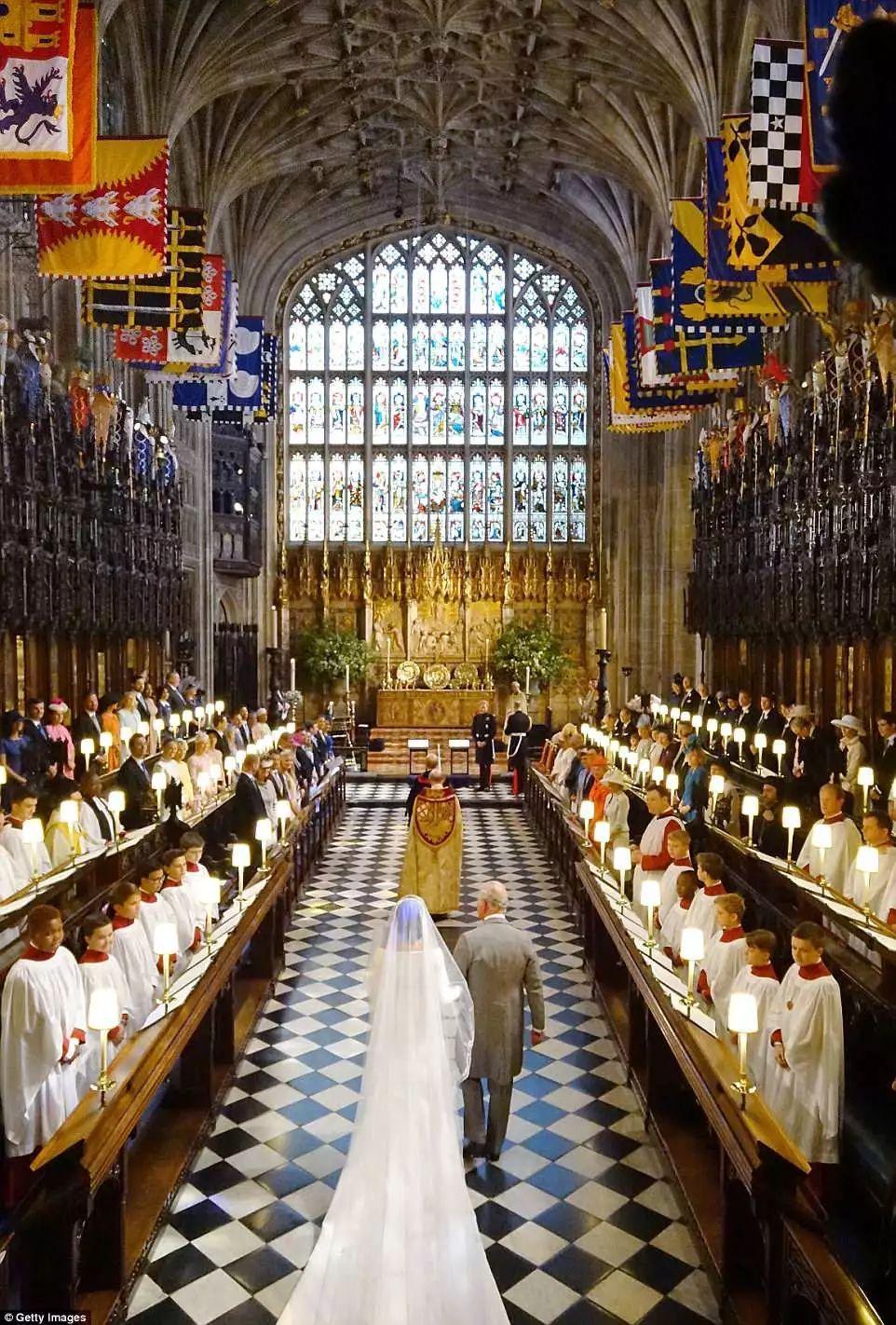 哈里梅根大婚,王室婚礼美如童话!