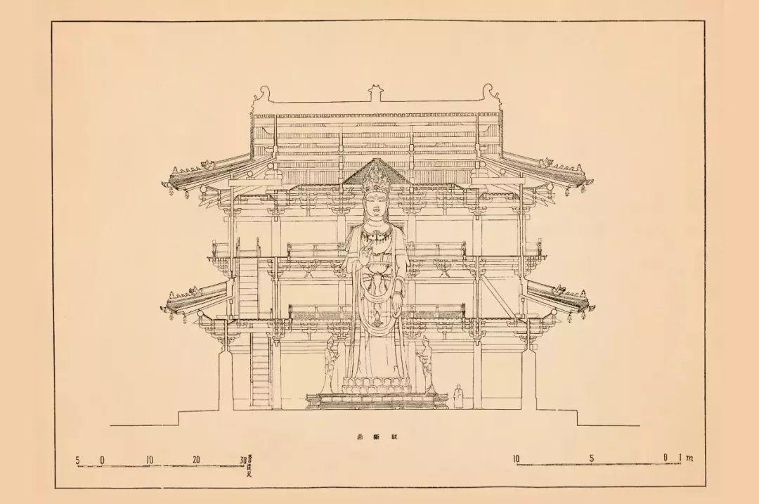 手稿|梁思成古建筑图集,营造中国解密密码教程吉塔图片