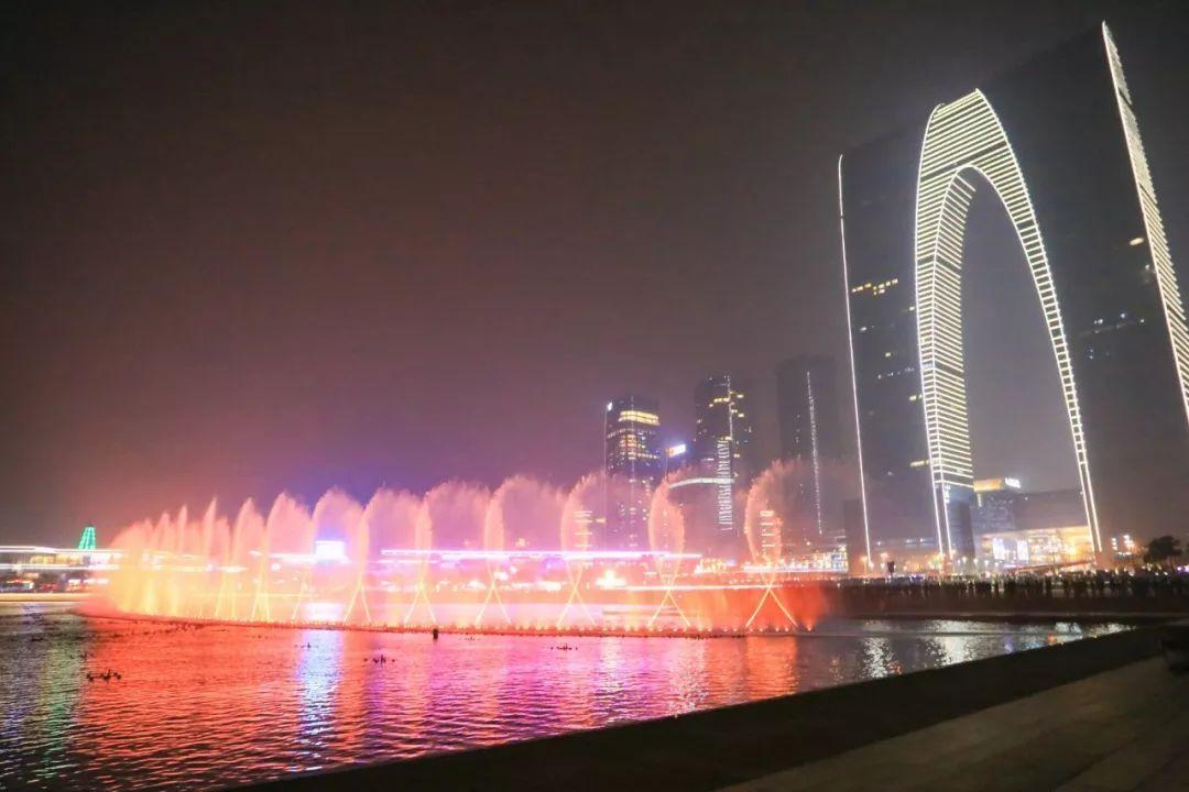 金鸡湖&苏州湾音乐喷泉最全游玩攻略!图片