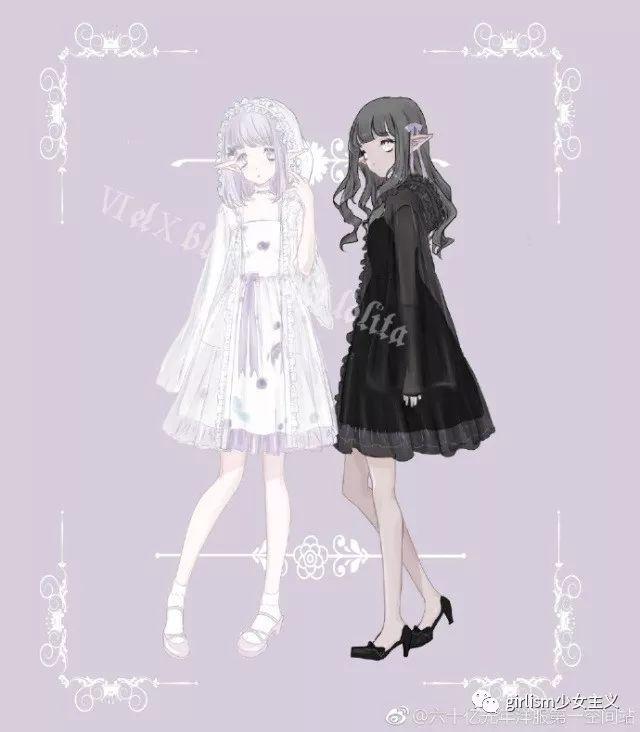 ichigomikou原创lolita设计图片