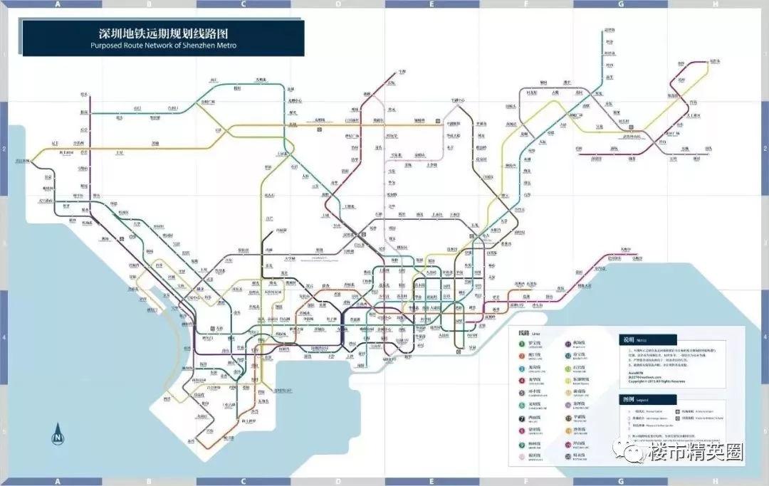 2019 2022年深圳将迎来一波地铁井喷