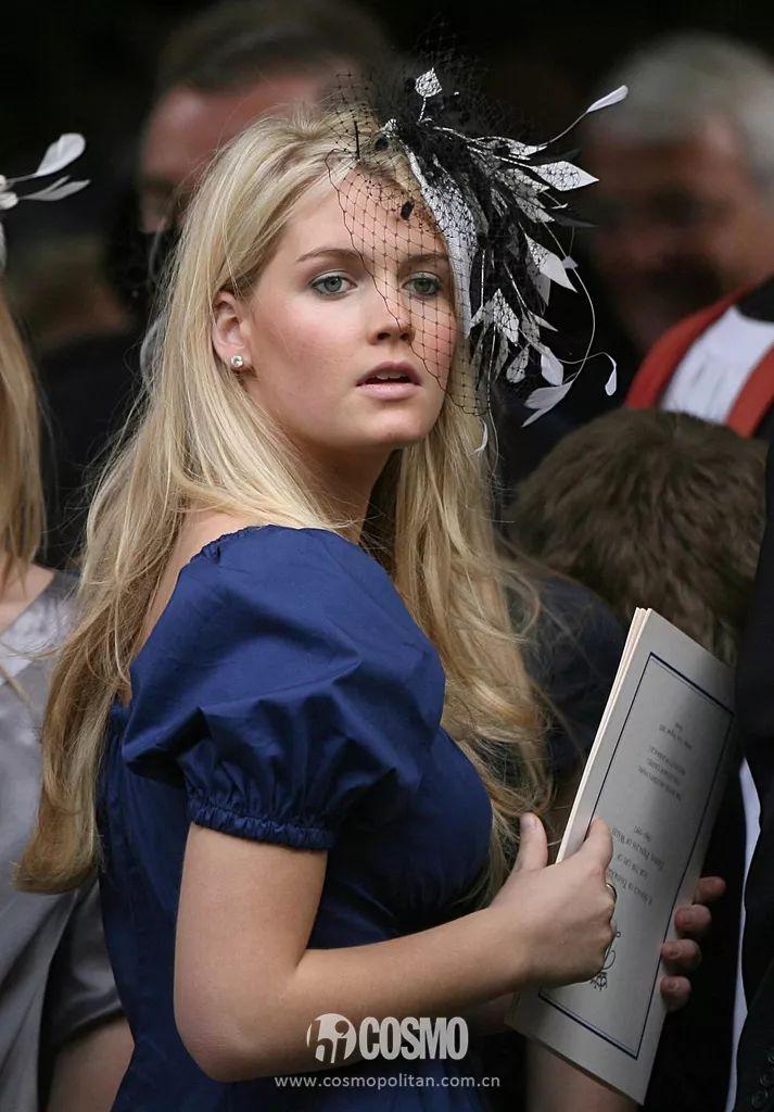 女神控丨哈里王子婚礼上刷屏的戴妃侄女,其实不及戴妃半分美貌