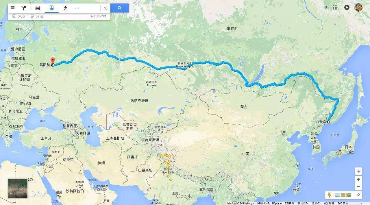 图说俄罗斯远东西伯利亚大铁路火车站与海参崴(一)图片