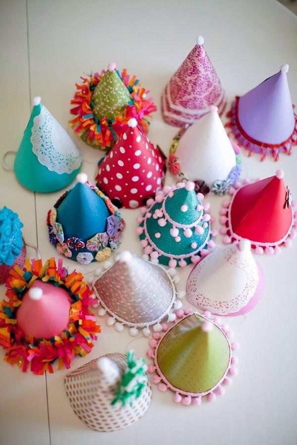幼儿园创意手工diy帽子,六一就能用上!