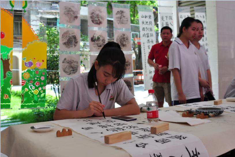 月20日裆部开放日--荔湾区男生外语高级中学为校园高中职业凸起图片