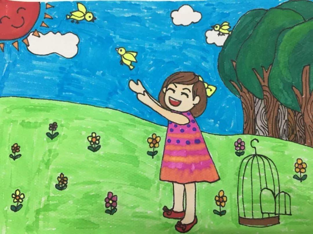 童画新时代,手绘价值观,河源的小朋友们快来参与吧!