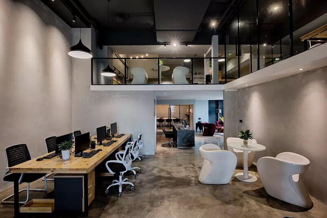 办公室装修效果图(来源于网络)