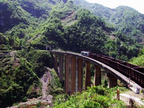 襄渝線 - Xiangyang–Chongqing r...