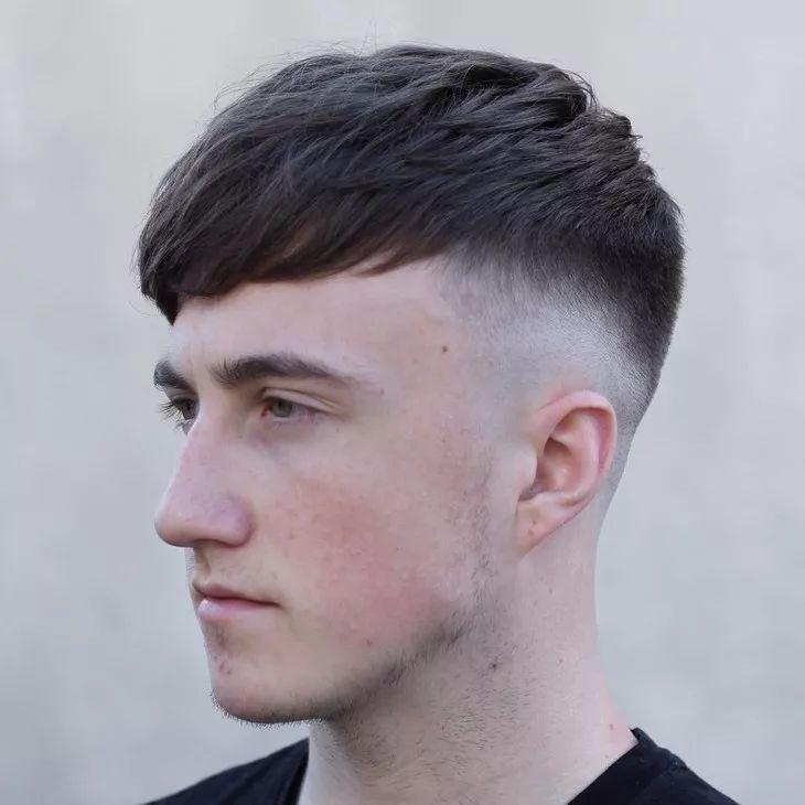 有时候,男人换发型=换头图片
