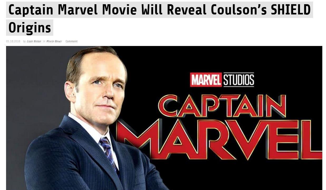 寇森重回漫威宇宙 《驚奇隊長》將追尋寇森起源故事