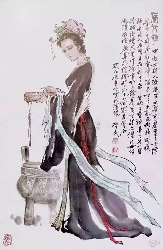 历史 正文  蔡文姬的作品,展现的是诗人的生命和血泪,正因如此,她的