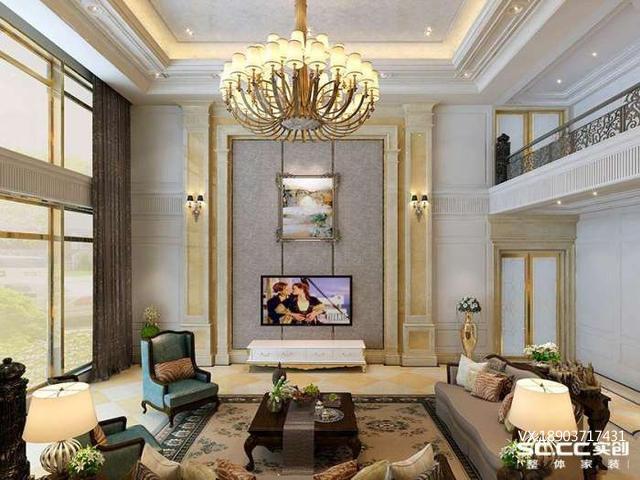 龙之梦普罗旺世——客厅效果图