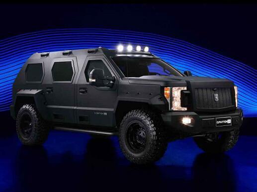 两款百万级新车上市 乔治·巴顿新车霸气亮相!