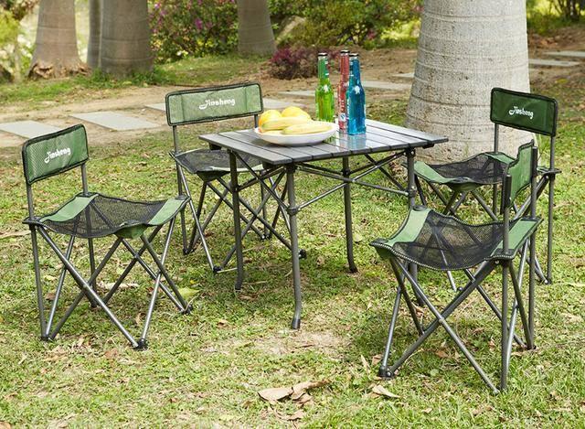 便携式桌椅让一家人舒舒服服地野餐_分分彩开奖