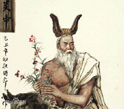 传说炎帝部落后来和黄帝部落结盟,共同击败了蚩尤.