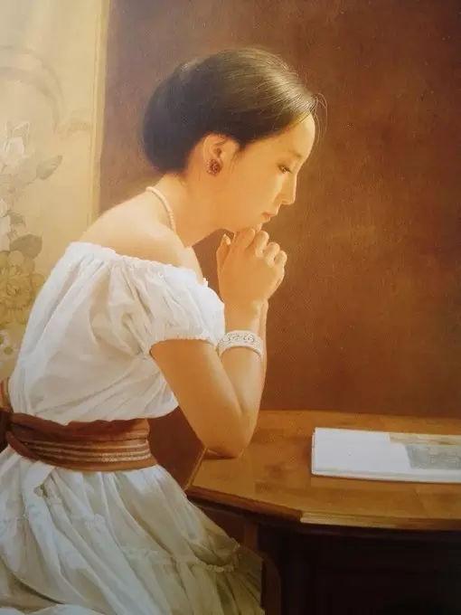日本超写实油画大师森本草介创造美到极致的东方女性形象