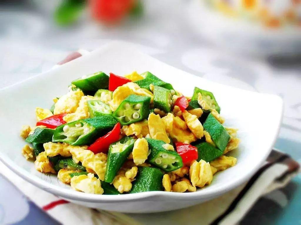 秋葵炒雞蛋,營養豐富,老少皆宜!