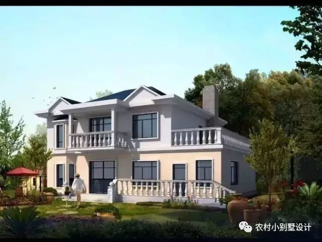 4套新农村别墅设计图纸流出,看完你还想在城市买房吗