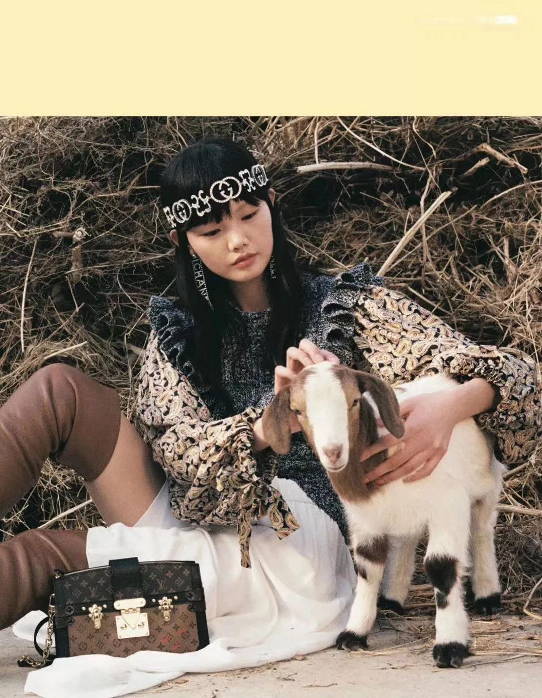 【模特艺考生】李芙瑶出镜《时尚cosmo》六月刊 | 无忧农场