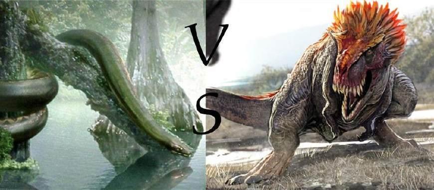 史前巨兽霸王龙和泰坦蟒谁更强?科学家分析:强行五五开