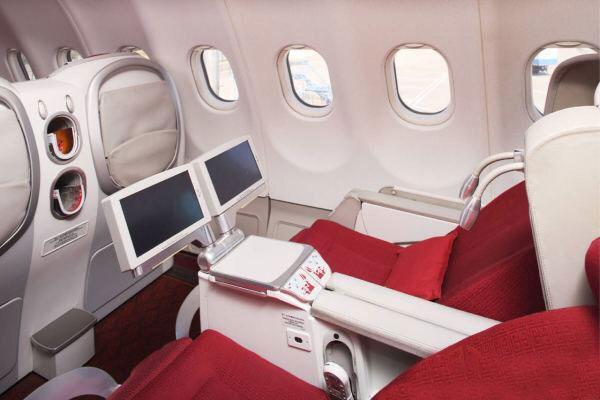 飛機頭等艙與經濟艙到底有什么區別?圖片