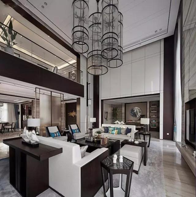 450平新中式别墅,大气空调阅尽繁华新风价格沉稳多少图片