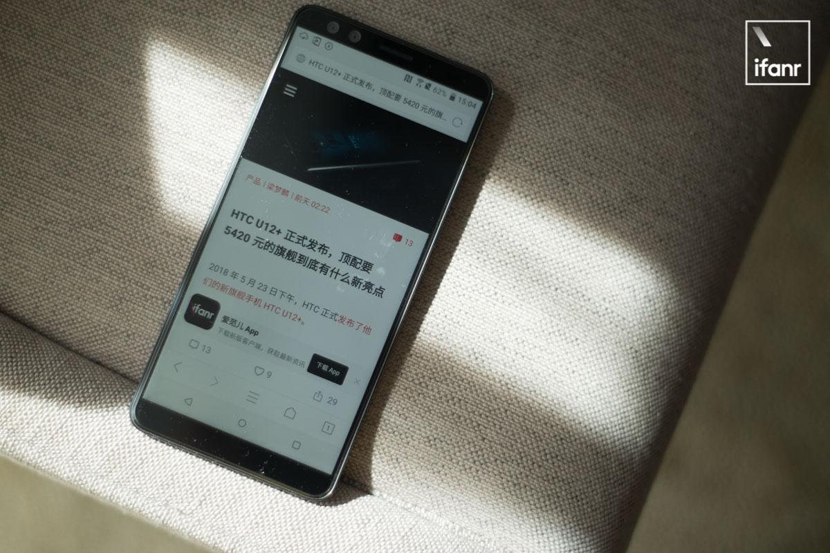 HTC U12+ 上手:HTC 手机最旗舰的双摄,HTC