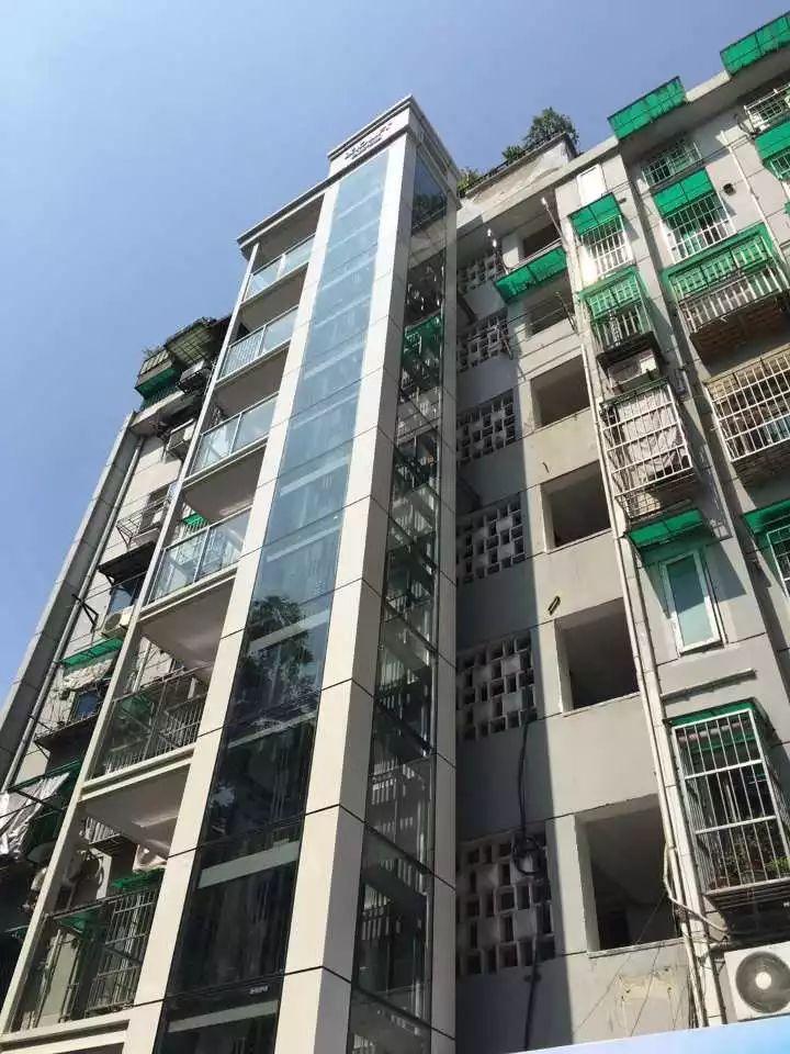 只用38天时间!杭州这栋老房子变成了电梯房,神速啊