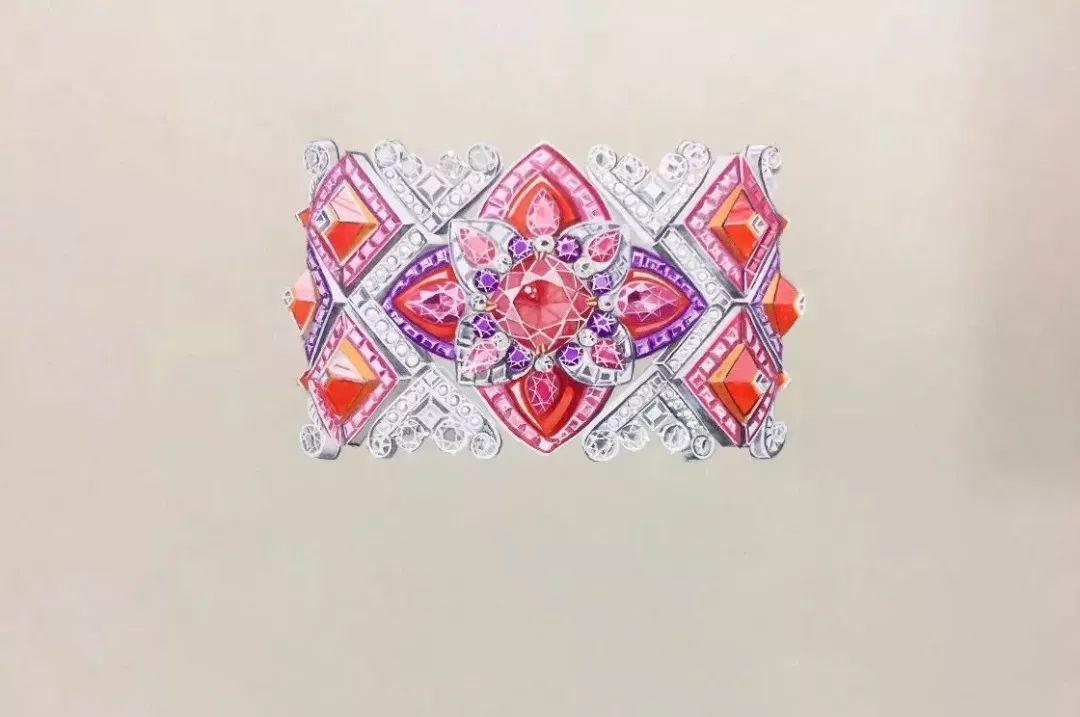 野生国际 | 暑期课 ·《高级珠宝手绘效果图》精品课程,火热预约报名