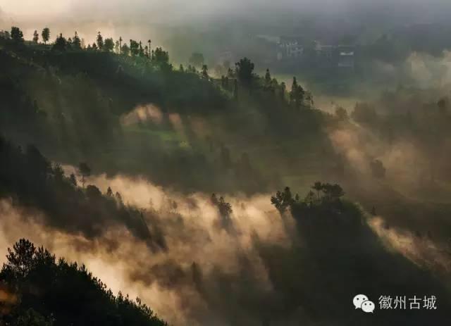 歙县长陔:梦幻般的村庄
