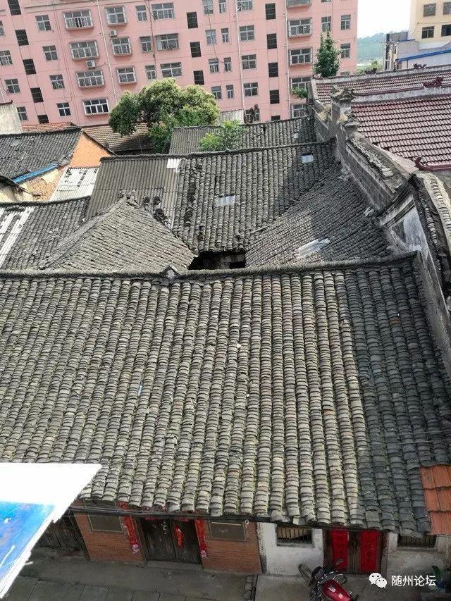 高新区 淅河石码头街民居屋顶