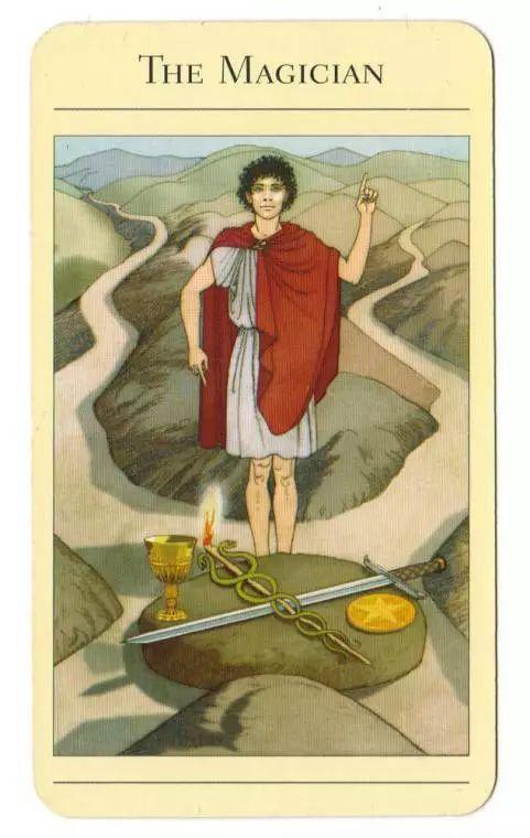 神話塔羅|魔術師