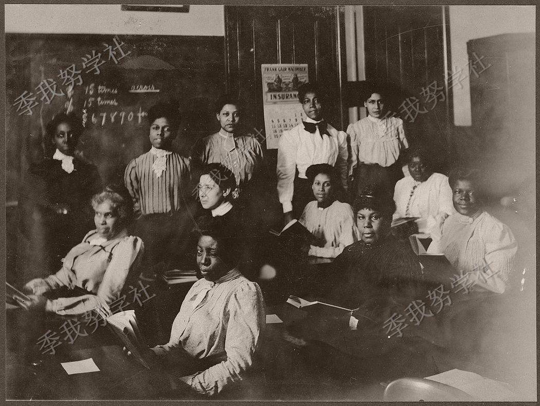 这里学校被称为美国雅典:图说19世纪的波士顿公立学校 黑人女孩获得教育机会