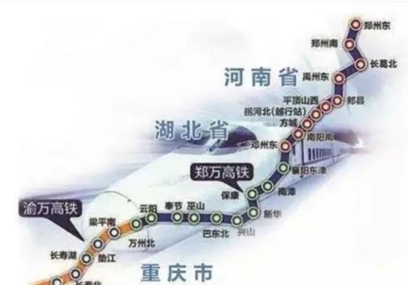 规划中的京昆高铁走太原西安,为什么不共用郑渝高铁段