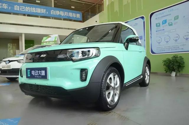 北汽新能源LITE上海实拍