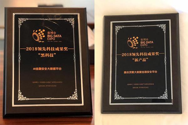 灵鲲大数据金融平台获数博会领先科技奖 助力智慧城市发展