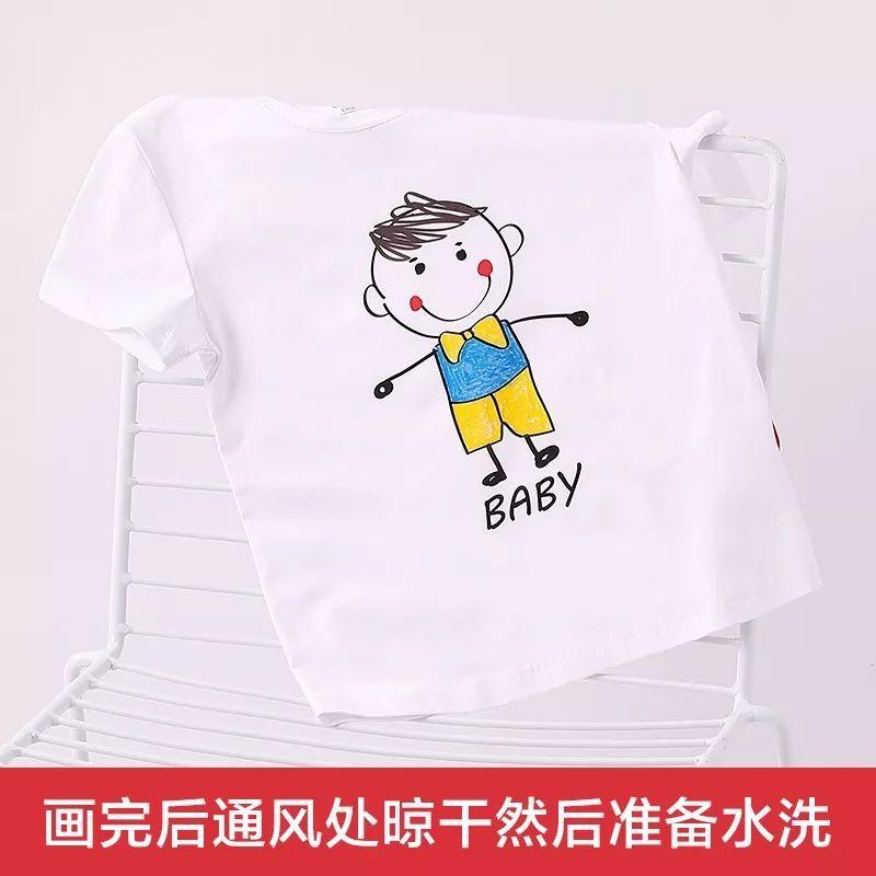 diy手绘t恤走秀