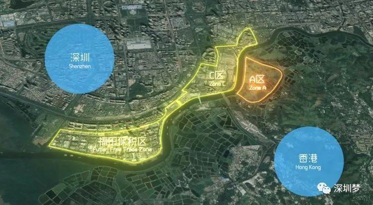 财经 正文  深港科技创新特别合作区示意图.图片