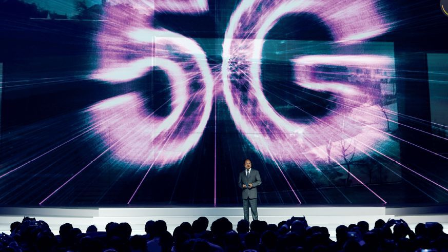 What is the $12 trillion and 300 billion that 5G brings?