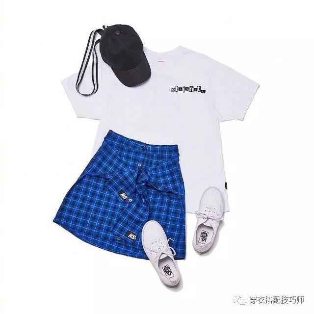 活力运动风服装搭配图片,休闲潮GIRL必备!