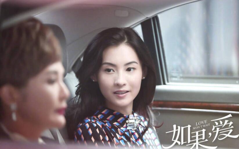 张柏芝《如果爱》收视率夺冠 回眸惊艳众生颜值不减当年