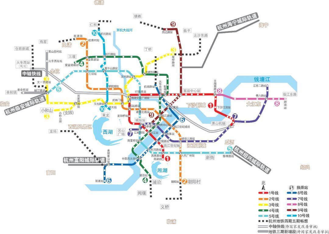 主要城市地铁线路,2019年春季地图版(不好意思,已重... -地铁族