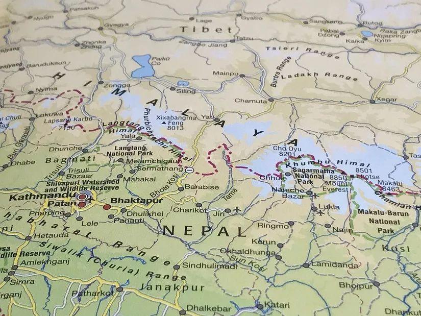 珠峰登山季地图攻略