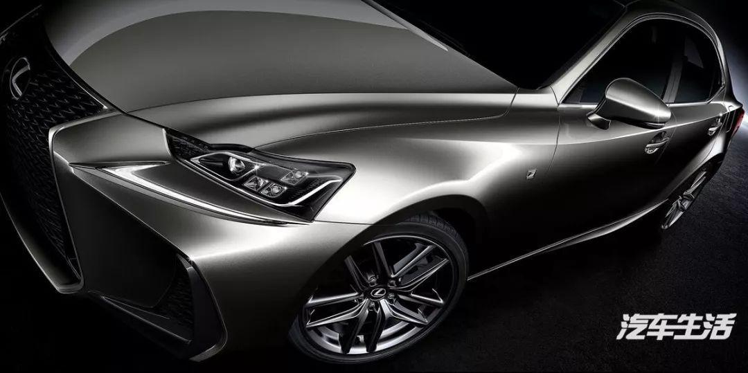 新CC领克02雷克萨斯IS这5款量产车颜值不输概念版丨帮你选车
